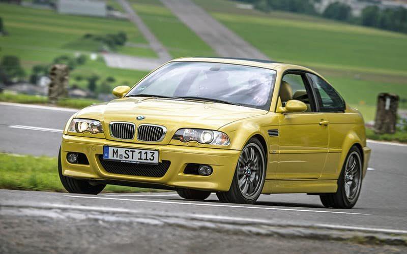 bmw e46 sarı