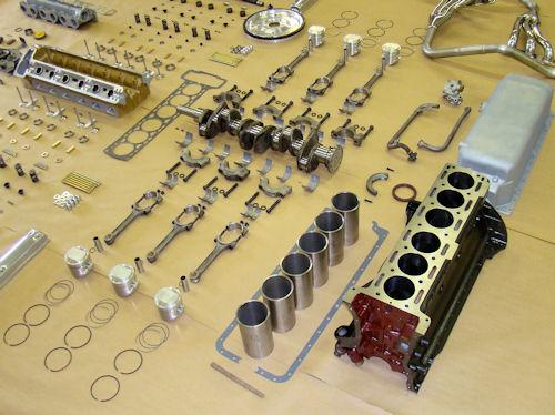 motor yenileme işlemi